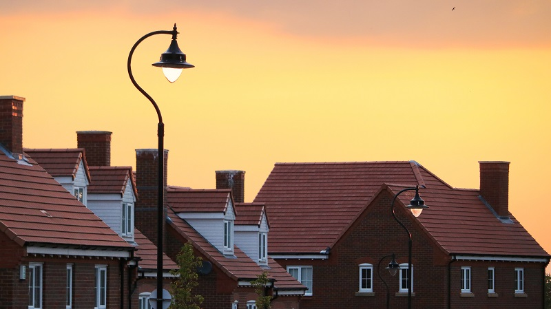 Land Registry figures show a rise in new build sales year on year