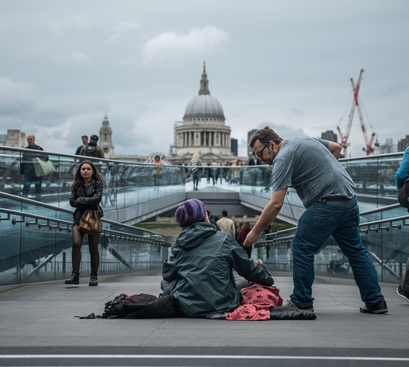 London rough sleeping hits record high with 18 per cent rise in 2018-19